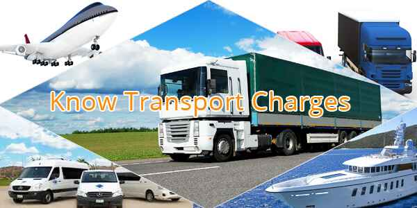 Transportation charges
