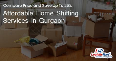 Home Shifting in Gurgaon - LogisticMart